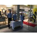 Pressbyrån öppnar butik med supersnabbt koncept i Kista Galleria
