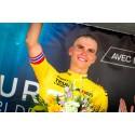 Etappeseier og gul trøye i Tour del'Avenir