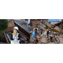 Lions hjälper offren för jordbävningarna i Ecuador och Japan