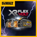 DEWALT® XR FLEXVOLT: the World's first 18/54V convertible battery pack system