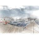 Flytande havsbad byggs i Oceanhamnen