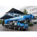 Weltpremiere: Scania P 450 LB10x4*6MNA mit Ruthmann Steiger® T 900 HF für Felbermayr