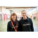 Årets idrottslärare är Riksgymnasiets Alenka Horvat och Karin Hallin Ahlström