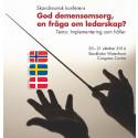Ledarskapets roll i demensvården – tema för skandinavisk konferens