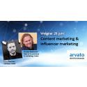 Webinar om content marketing och influencer marketing