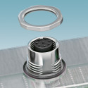 Housing screw connections for THR and SMD contact carriers