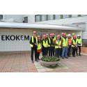 Europeiska specialister på besök hos Ekokem