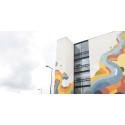 Tikkurila lahjoitti muraalitaidetta Suomen kaupunkeihin juhlavuoden kunniaksi