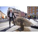 Nu byggs säkrare cykelbanor för att få fler stockholmare att cykla