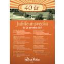 Jubileumsprogram Mora Parken 40år.