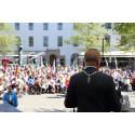 Kalmar kommun firar Sveriges Nationaldag