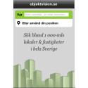 Objektvision först ut med app för lediga lokaler