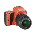 Pentax K-S1 sunset orange