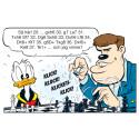 Schackvärldsmästaren Magnus Carlsen debuterar som Kalle Anka-författare