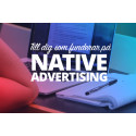 Till dig som funderar på native advertising