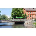 Kraftig prisminskning för biogasbussar med ny svensk teknik