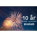 Ratsit firar 10 års jubileum