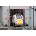 Hitachi unveils first UK built Intercity Express Train