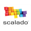 Scalado's logo with white background