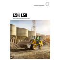 Volvo L20H och L25H - broschyr med specifikationer (eng)