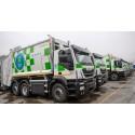 Avfallstransporterna i Madrid mer miljövänliga med CNG-drivna Iveco Stralis