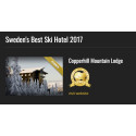 "Copperhill Mountain Lodge prisad i skidturismens egen ""Oscarsgala"""