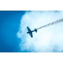 Uppskattad flyguppvisning av Mats Andersson på Brith Memorial