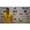 Marcus Moren från Köping är Sveriges bästa unga personbilstekniker
