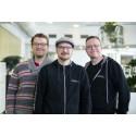 Arslan Tursic, Tobias Karlsson och Vigfus Omarsson