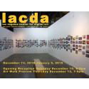 Saga-Sofia ja Nia Maria Haarasen digitaalinen maalaus Los Angeles Center for Digital Art:ssa 13.12.2018-5.1.2019.