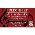 Julkonsert i Målerås glashytta