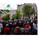 Judiska centralrådet arrangerar en kippavanding i Umeå
