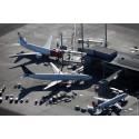 Økningen i flytrafikken fortsatte i august