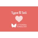 Type & Tell inleder samarbete med Litterära Konsulter