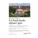 Inbjudan och program för Sankt Paulis återöppnande