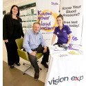Vision Express illuminates risk of stroke with free in-store blood pressure clinic