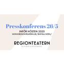 Presskonferens 26 maj inför hösten 2020