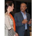 Dr Younis Al Khatib, ordförande i Palestinska Röda Halvmånen