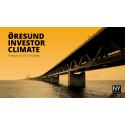 Positivt investerar-klimat i Öresund