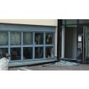 Mindre explosion på Ramnåsgatan – fönsterrutor krossade