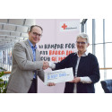 Swedavia's passengers and employees donate millions of kronor to the Red Cross