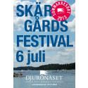 Skärgårdsfestivalen 6 juli - på Djurönäset!