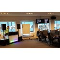 Viafone Sweden AB skruvar upp volymen med QSC högtalare från XL Audio