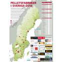 Pelletsfabriker i Sverige 2014