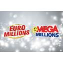 Mega Millions + Euromillions idag