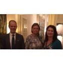Charge Amps med Handelsministern i Haag, NL
