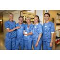 Operationsteamet på Danderyds sjukhus
