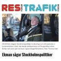 Johan Ekman intervjuas för Resforum och Trafikforum