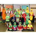 'Keen green' pupils thanked for food recycling campaign