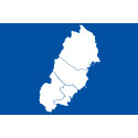 Karta över norra Sverige